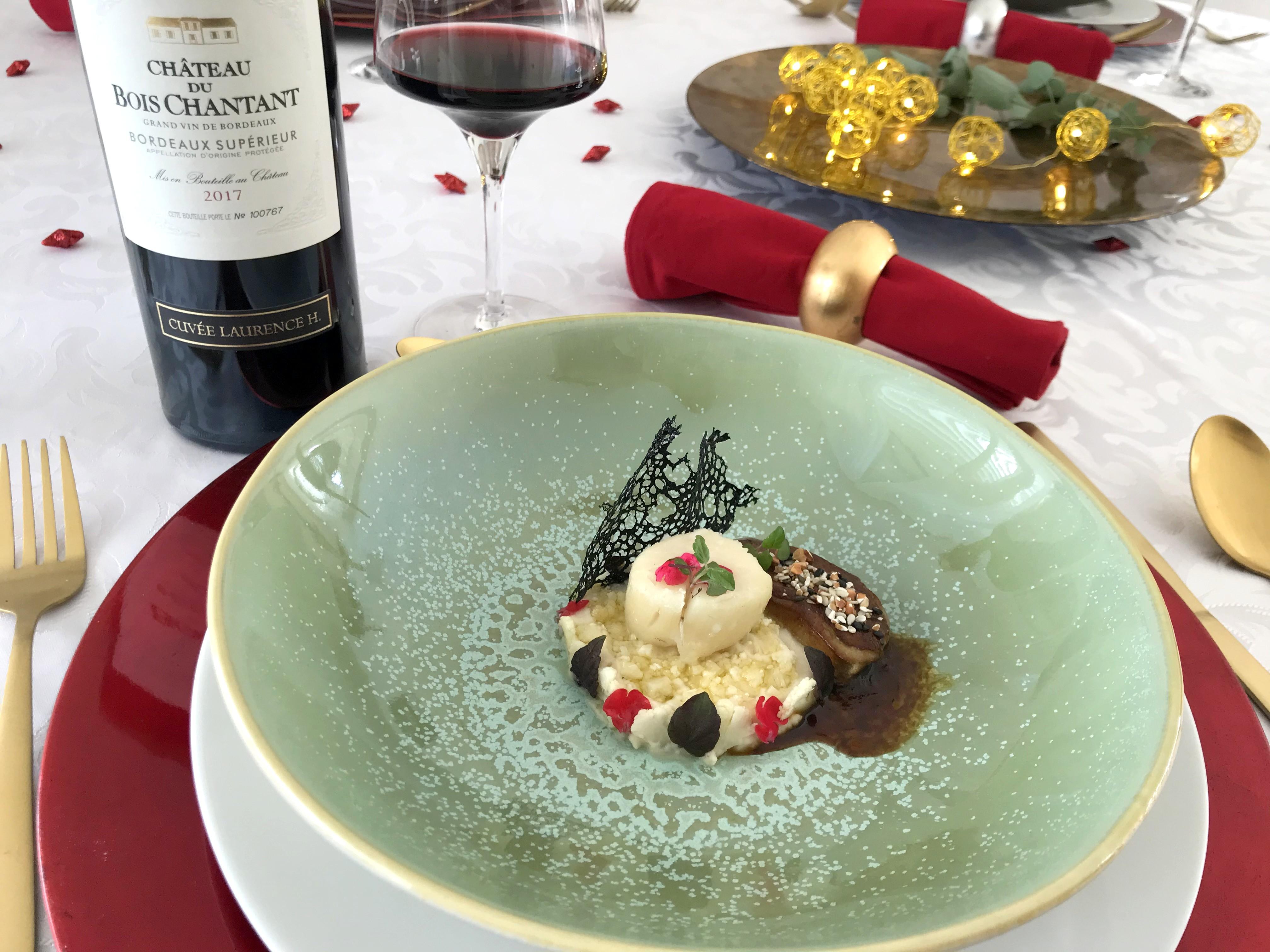 foie gras saint jacques et choux fleur a l rsquo asiatique